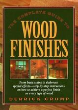 Complete Guide to Wood Finishes by Derrick Crump