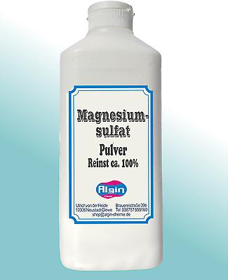 Magnesiumsulfat ist zur Gewichtsreduktion