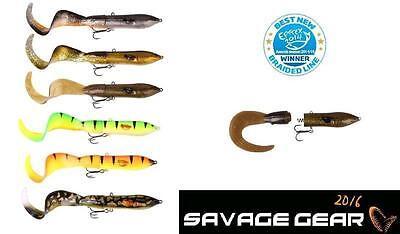 SAVAGE GEAR 3D Hard Eel Spare Tails 2er Pack 1Long//1Short Ersatzschwänze