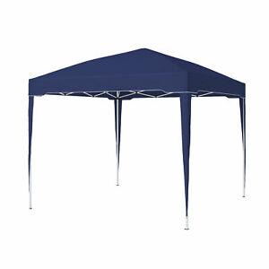 paramondo-Faltpavillon-Premium-3-x-3-m-blau-Pavillon-Gartenzelt-Zelt-B-Ware