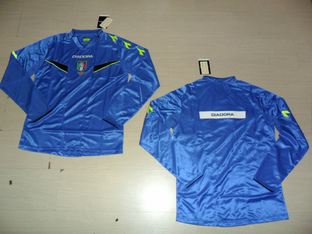 10425 FW13 DIADORA L T-SHIRT REFEREE HAGUE LONG SLEEVE REFREE JERSEY