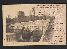 LAVARDIN (41) PONT & CHATEAU avant 1904
