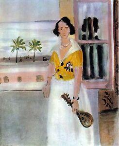 Henri-Matisse-1939-LITHOGRAPH-w-COA-unique-GIFT-Exclusive-MATISSE-print-RARE-ART