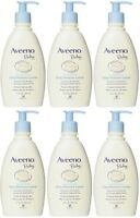 6 Pack Aveeno Baby Daily Moisture Lotion Fragrance Free 12 Oz Each on sale