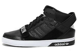 official photos 6d0a6 3d131 Caricamento dell immagine in corso Adidas-Hardcourt-Defender-Nero -Men-039-s-Sneakers-