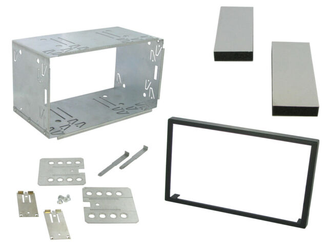 Connects2 CT23UN01 Car Universal Double Din Stereo Mounting Kit Frame Cage