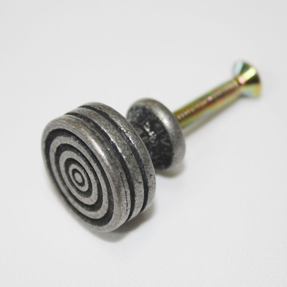 15 pcs Antique Pewter Metal 21mm Mini Knobs Cabinet Drawer Pull Hardware NS-4041