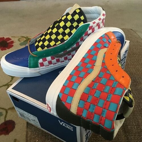 50ème Past Sk8 Rare Vans Salut Og Vault Lx Taille 9 Checkered Collection nTX6qUxXw