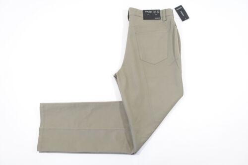 Top ALFANI DARK SAND 36X30 REGULAR STRETCH FLAT FRONT CLOTH JEANS MENS NWT NEW hot sale