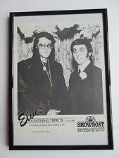 Elvis Presley - George Klein Foto 20x25 cm Schwarz/weiss mit Autogramm
