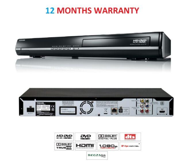 Toshiba HD-EP30 HD-DVD (High Definition) Player Internet Media Streamer USB HDMI