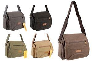 Details about Womens Canvas Shoulder Bag