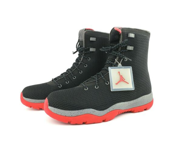 c4bee324f6a9 Nike Air Jordan Future Boot Black Gym Red Cool Grey Size 12 Bo for ...