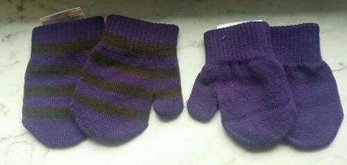 Minymo Baby Handschuhe FÄUSTLINGE 2 Paar viele Farben Alter 0-3 Monate