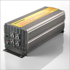 BRAND NEW DURAFIED 3000/6000W POWER INVERTER 12V DC TO 115/120V AC!