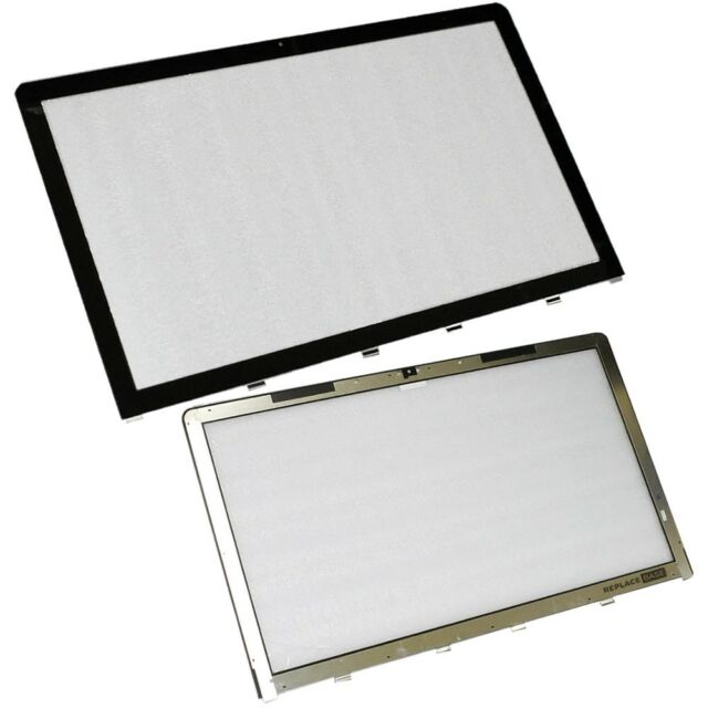 """Screen Glass For Apple iMac 27"""" A1312 2011 Replacement Front Display Panel OEM"""