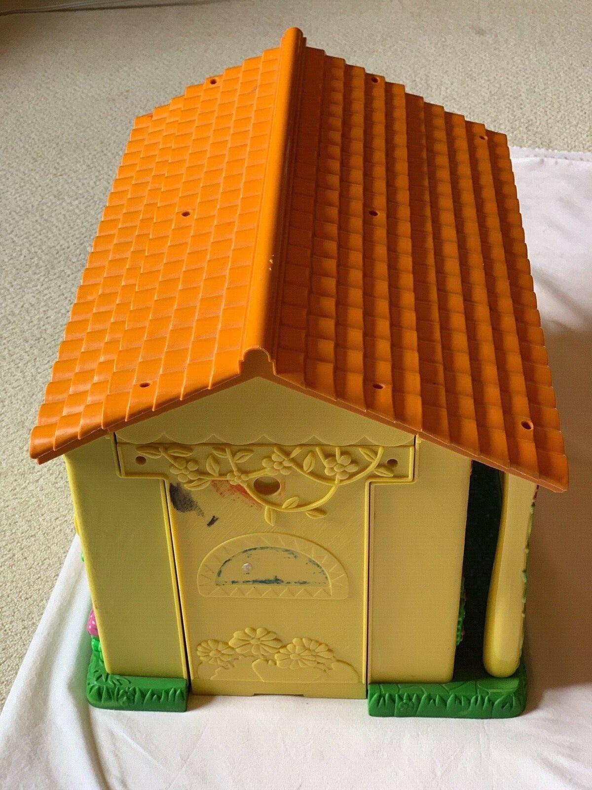2003 Dora the Explorer Talking Dollhouse Pop Up Folding Doll Doll Doll House Play set 0d1d41