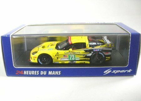 Chevrolet Corvette  73 11th Lm 2011 Winner Lm Gte 1 43 Model SPARK MODEL