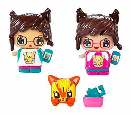 My Mini mixieq/'s series 1 CAT Lover 4 Pack 3 figures and PET