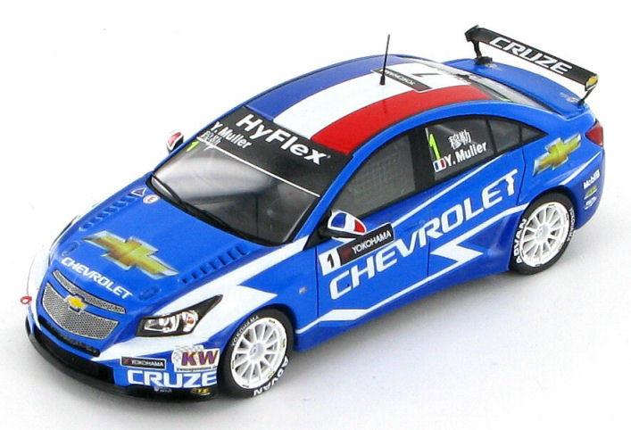 autorización oficial Chevrolet Cruze Thurler Muller Winner Race Race Race 1 Macao WTCC 2012 1 43 - S2494  Las ventas en línea ahorran un 70%.