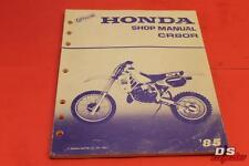 OEM HONDA 1985 CR80R SHOP MANUAL PART# 61GC402