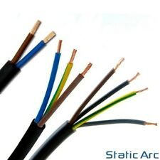 2/3/4 CORE ELECTRICAL FLEX CABLE TWIN TRIPLE WIRE CUT LENGTH 0.75/1/1.5/2.5mm2