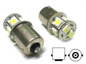 Lampada-Led-Canbus-BA15S-G18-5-R5W-R10W-No-Errore-Bianco-12V-Luci-Posizione