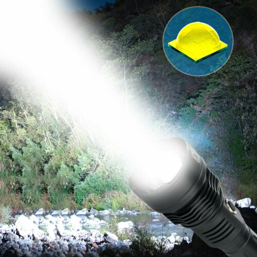 Ultra Bright XHP70 XHP90 26650 USB Rechargeable Flashlight Zoom Torch Lamp XHP50