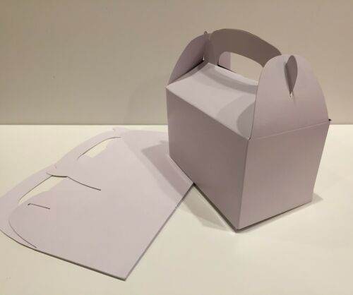 36 WHITE PARTY FAVOR TREAT BOXES BAG GREAT FOR BIRTHDAYS WEDDING BABY SHOWER