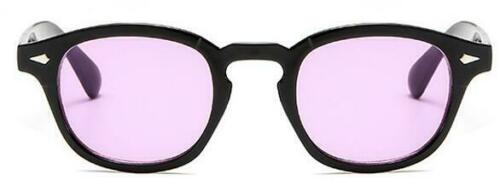 Vintage Sunglasses Frame Retro Clear Glasses Tinted Lens Fashion Men Johnny Depp