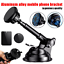 thumbnail 1 - Car Dashboard Windshield Phone Holder Magnetic Telescopic Mount Stand GPS Cradle
