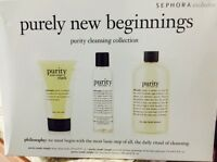 Philosophy Purely Beginnings Collection Cleansing Set 3 In Box