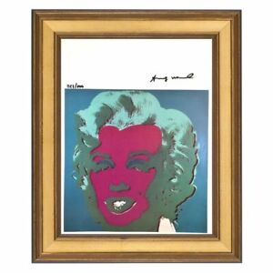Andy-Warhol-Original-Hand-Signed-Print-with-COA-High-Resale-Value