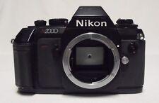 Vintage NIKON N2000 35mm SLR Film Camera Body Only Tested Meter Working Cracks