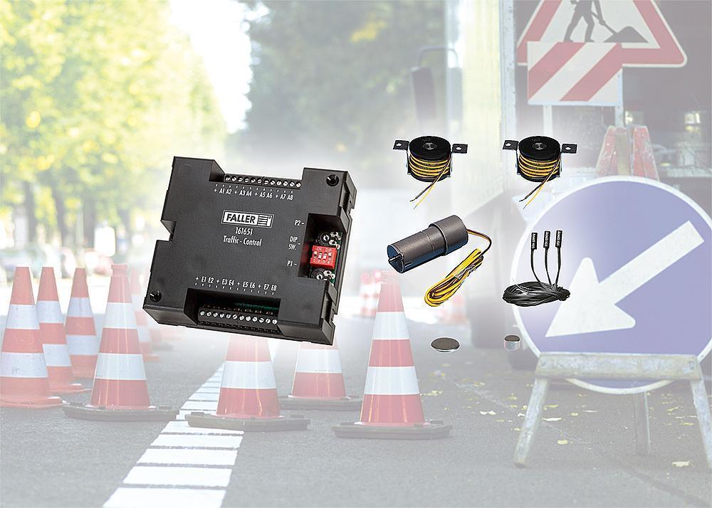 Faller 161622 car sistema base-set componentes