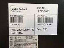 NEW HP HPE Altoline 6900 48G 4XG 2QSFP ARM ONIE AC Switch 48 Port JL223A#ABA