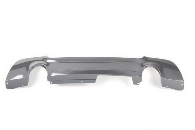 BMW New Genuine 3 Series E92 E93 M Sport Rear Diffuser With Two Muffler Holes
