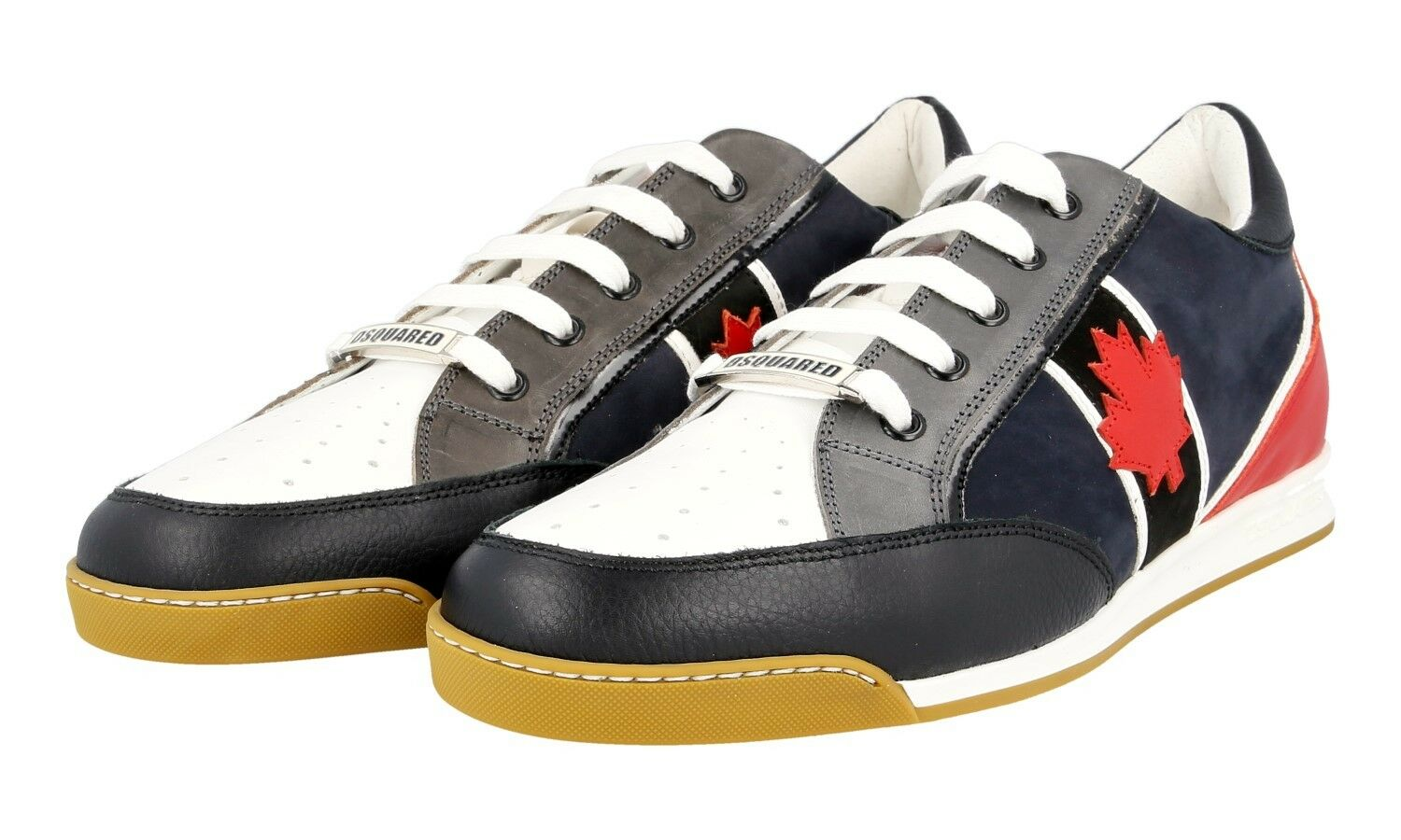 AUTHENTIC LUXURY DSQUARED SNEAKERS SHOES SN104 NEW 42