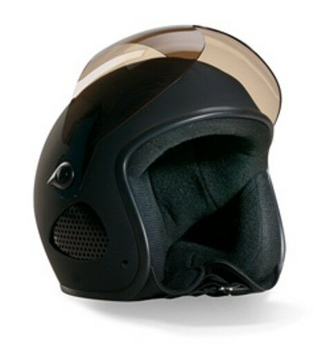 "Bores JET CON VISIERA slight SRM 1 Casco Moto Biker Design /""TITAN/"" MATT"