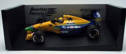 BENETTON FORD B191 R MORENO 1991 MINICHAMPS 100910019 1 18 F1 FORMULE 1 1 18