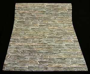 6828 11 7 1 rolle vlies tapete authentic naturstein for Naturstein tapete
