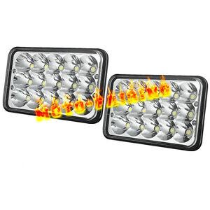 1pair led headlights for kenworth t400 t600 t800 w900b w900l classic 120 132 hk ebay. Black Bedroom Furniture Sets. Home Design Ideas
