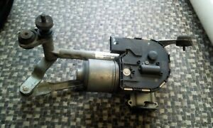 Wischermotor-vorne-links-Wischergestaenge-Seat-Leon-1P-Bj-07-1P0955023C-WG96