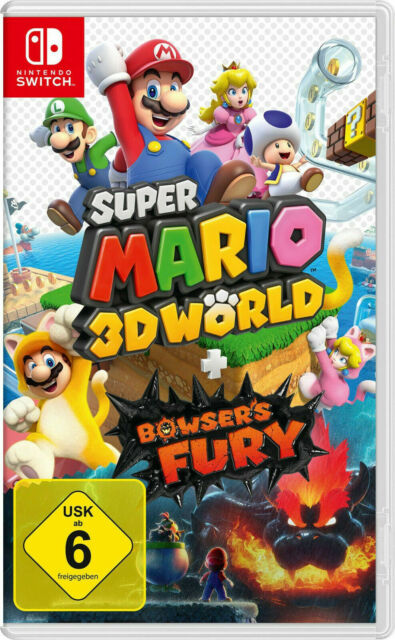 Super Mario 3D World + Bowser's Fury - Nintendo Switch, NEU & OVP