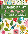 Jumbo Print Easy Crosswords: 5 by Thomas Joseph (Spiral bound, 2016)