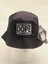Black Dope Bucket Hat Old School Hip Hop Rap Summer Fisherman Sun Bowler