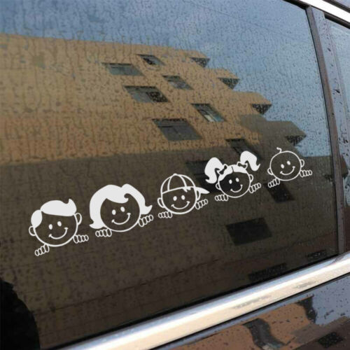 Peeping Family For Auto Car//Window PET Decal Sticker Decals Decor Hot Sale