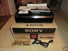Sony BDP-S5000ES High-End Blu-ray-Player, DVD Codefree, OVP, 2J. Garantie