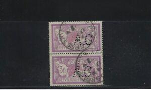 Fringant Perforé France N° 240 Paire - Ag 94