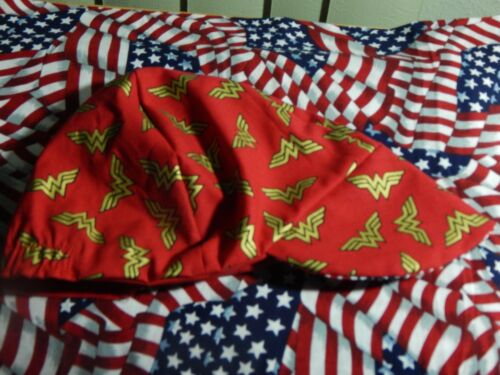 for   $7.50 Red/'s American Made Welding Wonder Woman GOLD Logo Biker Hat